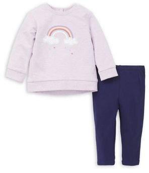 Little Me Baby Girl's Sweatshirt & Leggings Set