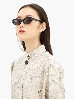 Frame Chain Full Figaro Gold-plated Glasses Chain - White Gold