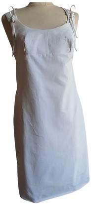 Martine Sitbon White Cotton Dress for Women