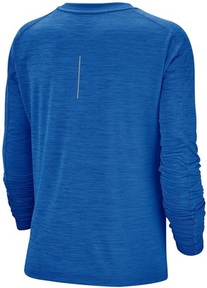 Nike Running Pacer Long SleeveTop - Sapphire