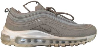 Nike 97 Grey Suede Trainers