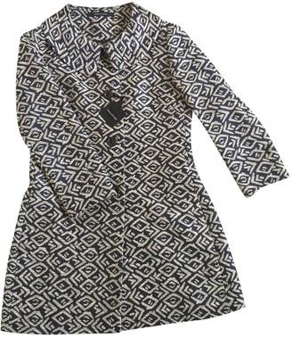 Tagliatore Grey Cotton Coat for Women