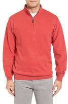 Peter Millar Men's Quarter Zip Fleece Pullover