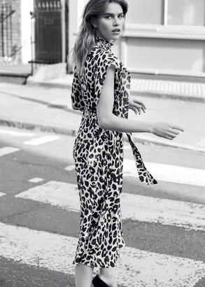 Phase Eight Trudy Leopard Print Dress