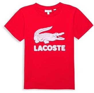 Lacoste Little Boy's & Boy's Oversized Classic Logo T-Shirt