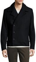 Antony Morato Solid Notch Lapel Coat