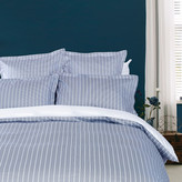 Tommy Hilfiger Sateen Stripe Duvet Cover - Navy - Double