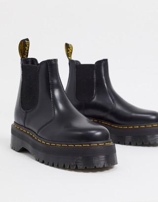 Dr. Martens 2976 flatform chelsea boots in black