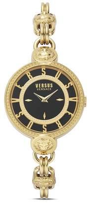 Versace Les Docks Link Bracelet Watch, 36mm