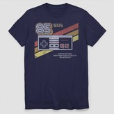 Nintendo Men' Claic NE 1985 Retro hort leeve Graphic T-hirt - Navy
