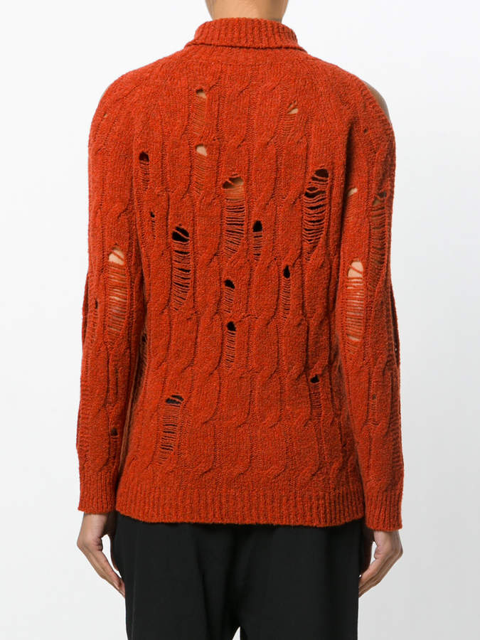 Damir Doma distressed knit jumper