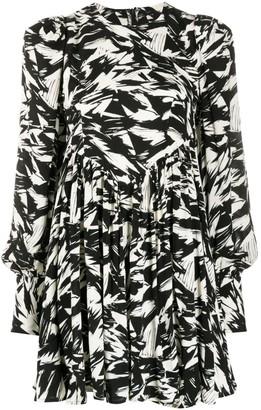 Rotate by Birger Christensen Graphic Print Mini Dress