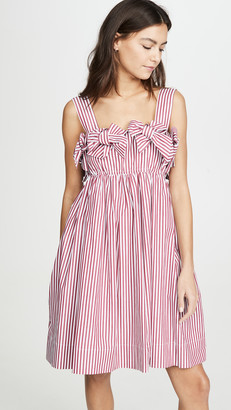 pushBUTTON Double Ribbon Mini Dress
