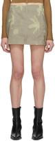 BEIGE Helenamanzano SSENSE Exclusive Sea Anemone Belt Skirt