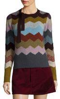 Marc Jacobs Cashmere Chevron Sweater