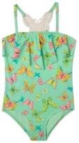 Hula Star Girl's 'Dreamy Butterfly' One-Piece Swimsuit