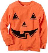 Carter's Little Boys' Pumpkin Print Cotton T-Shirt