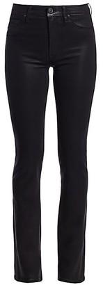 Hudson Barbara High-Rise Coated Bootcut Jeans