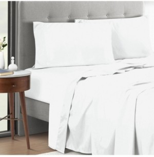 Sunham 4-Piece Queen Sheet Set with Anti Odor Technology Bedding