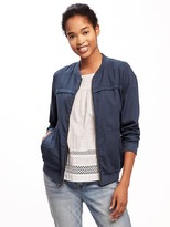 Old Navy Twill Bomber Jacket for Women