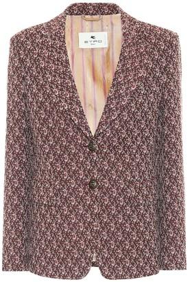 Etro Paisley jacquard blazer