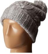 Polo Ralph Lauren Chunky Aran Cuff Hat with Pom