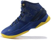 Brett Lancaster Men's Lightweight Sports Running Shoe Under Armour Curry 2 and Yellow Training Shoe