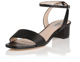LK Bennett Charline Black Leather Sandal