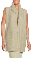 Eileen Fisher Textured Merino Wool Vest