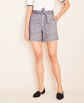 Ann Taylor The Marina Tie Waist Short
