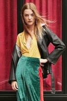 Urban Outfitters Bonnie Silky Button-Down Shirt