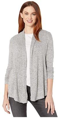 Nic+Zoe Sweet Dreams Cardigan (Light Grey) Women's Clothing