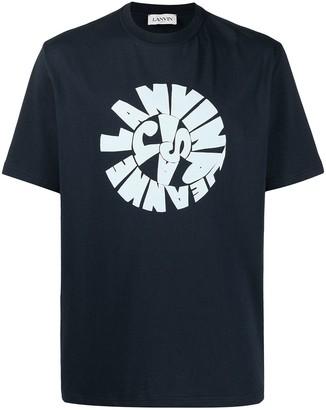 Lanvin swirl logo T-shirt