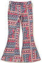 I.N. Girl Big Girls 7-16 Printed Pull-On Flare Pants