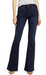 Paige Transcend - Bell Canyon High Waist Flare Jeans