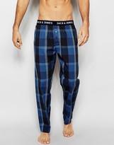 Jack & Jones Woven Lounge Pants In Loose Fit