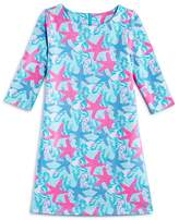 Vineyard Vines Girls' Starfish Shell Knit Dress - Big Kid