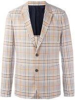 Ami Alexandre Mattiussi half lined 2 button jacket - men - Cotton/Virgin Wool - 48