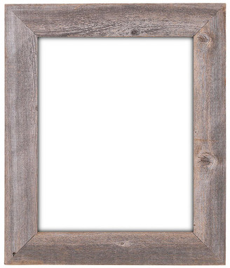 "Rustic Decor Llc Knoll Extra Wide Reclaimed Rustic Barn Wood Wall Frame, 16""x20"""