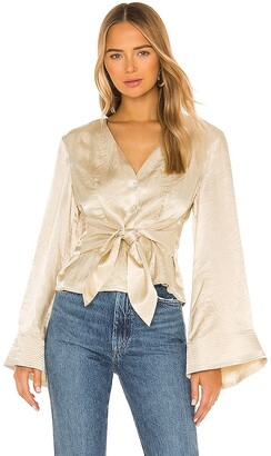 House Of Harlow x REVOLVE Flared Sleeve Top
