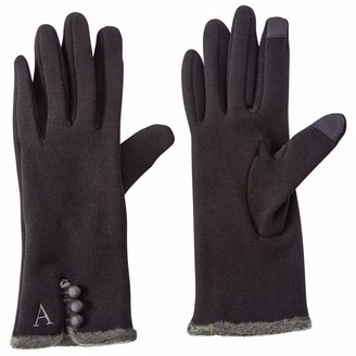Mud Pie Women's Smart Screen Knit Gloves
