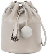 Building Block mini Bucket shoulder bag - women - Leather - One Size