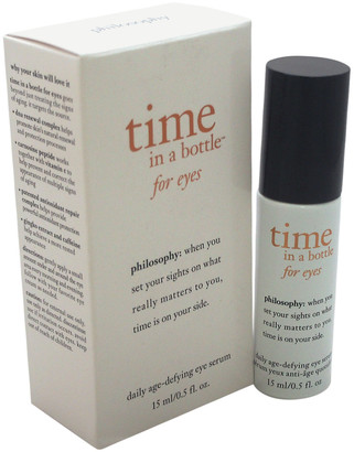 philosophy Unisex .5Oz Time In A Bottle For Eyes Age-Defying Serum