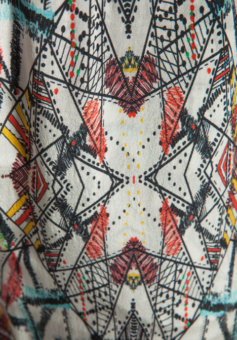 Funktional Kaleidoscope Drawstring Pant