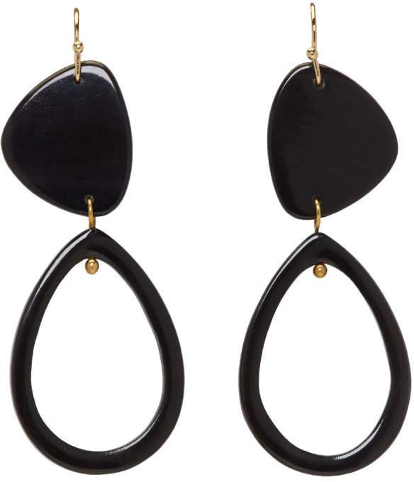 Isabel Marant Black Spirit Earrings