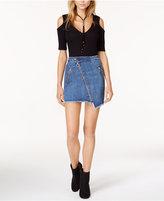 Joe's Jeans Karla Asymmetrical Denim Skirt