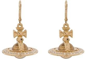 Vivienne Westwood orb drop earrings