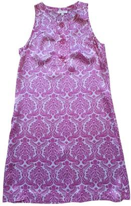 Claudie Pierlot Pink Silk Dresses