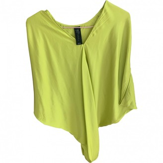 Zero Maria Cornejo Zero+maria Cornejo Yellow Silk Top for Women