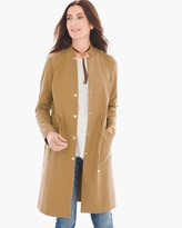 Chico's Drawstring Duster Jacket